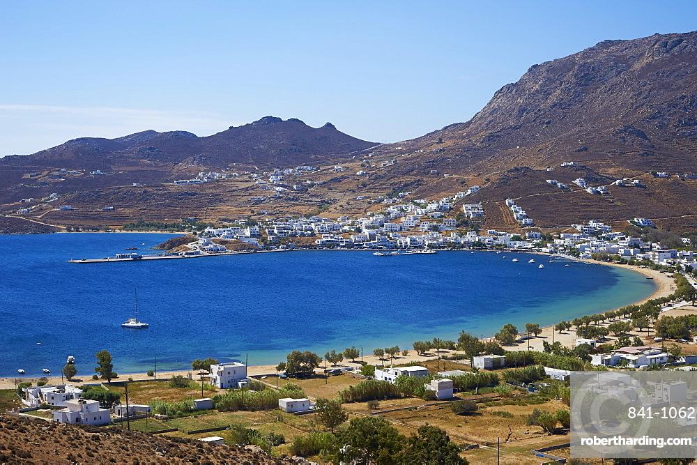 Beach, Hora, Serifos Island, Cyclades, Greek Islands, Greece, Europe