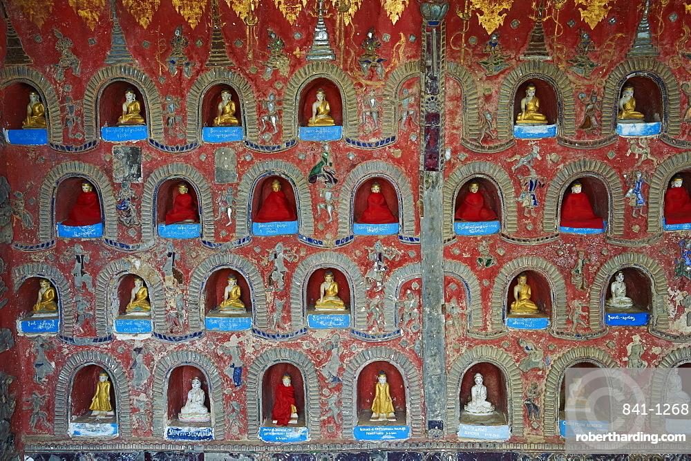 Shweyanpyay monastery, Inle Lake, Shan State, Myanmar (Burma), Asia