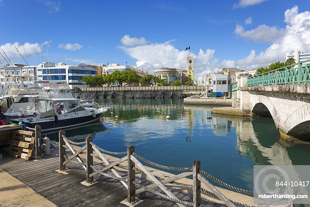 Parliament Building and Constitution River, Bridgetwon, St. Michael, Barbados, West Indies, Caribbean, Central America
