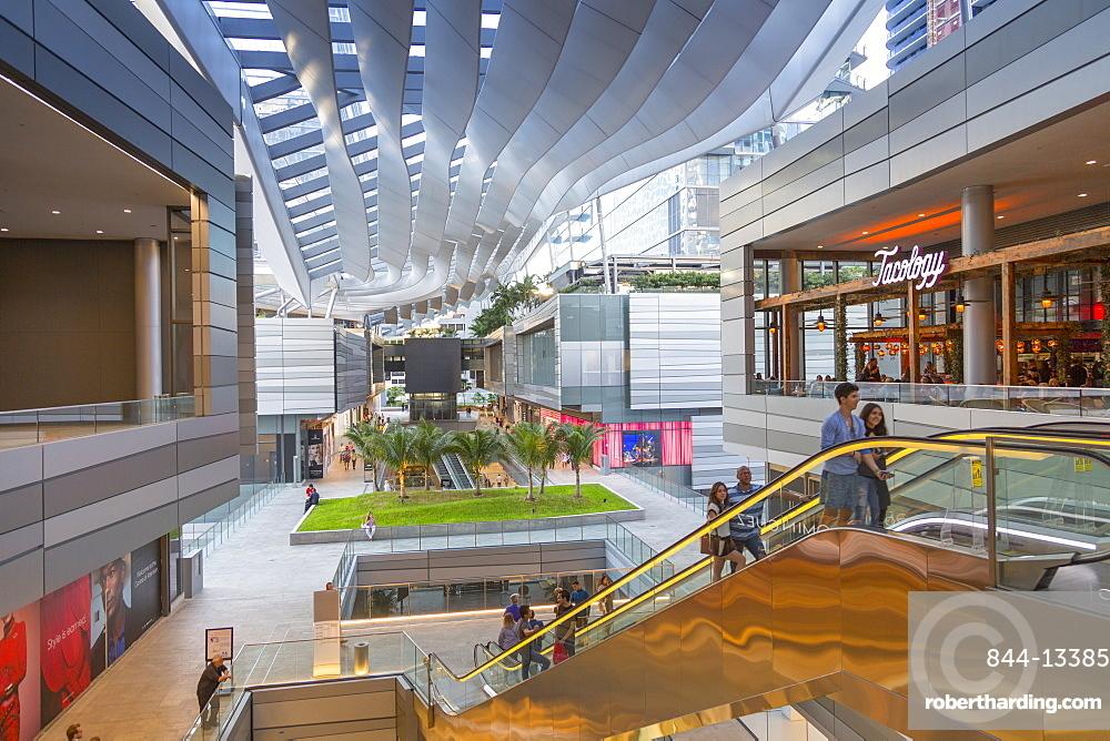 Interior of Brickell City Centre shopping mall in Downtown Miami, Miami, Florida, United States of America, North America