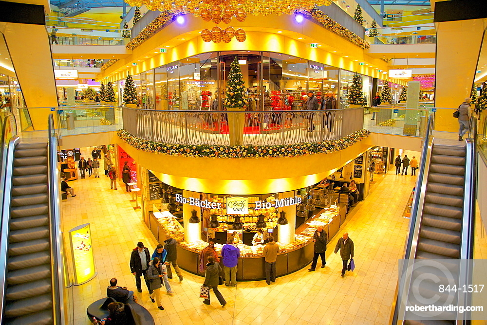 Thier Gallery, Shopping Centre at Christmas, Dortmund, North Rhine-Westphalia, Germany, Europe