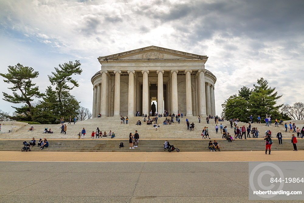 View of Thomas Jefferson Memorial, Washington D.C., United States of America, North America