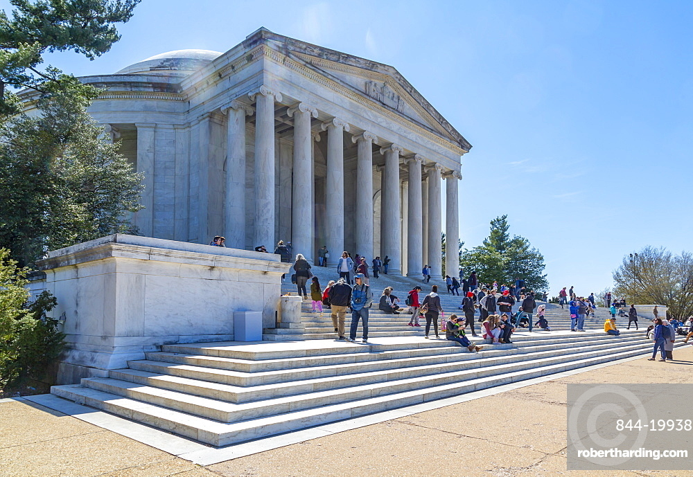 View of the Thomas Jefferson Memorial, Washington D.C., United States of America, North America