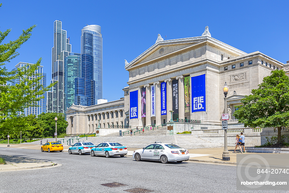 View of The Field State of the Art Science Museum, Chicago, Illinois, United States of America, North America