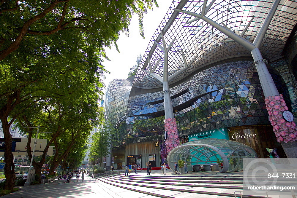ION Orchard Shopping Mall on Orchard Road, Singapore, Southeast Asia