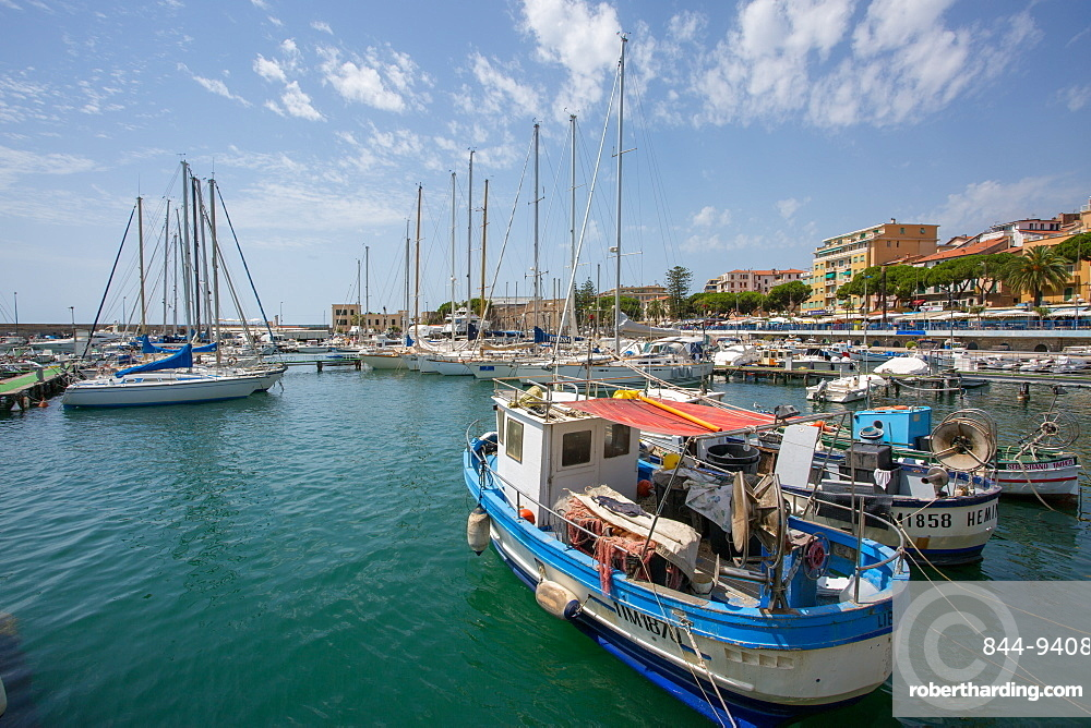Harbour, Sanremo (San Remo), Liguria, Italy, Europe