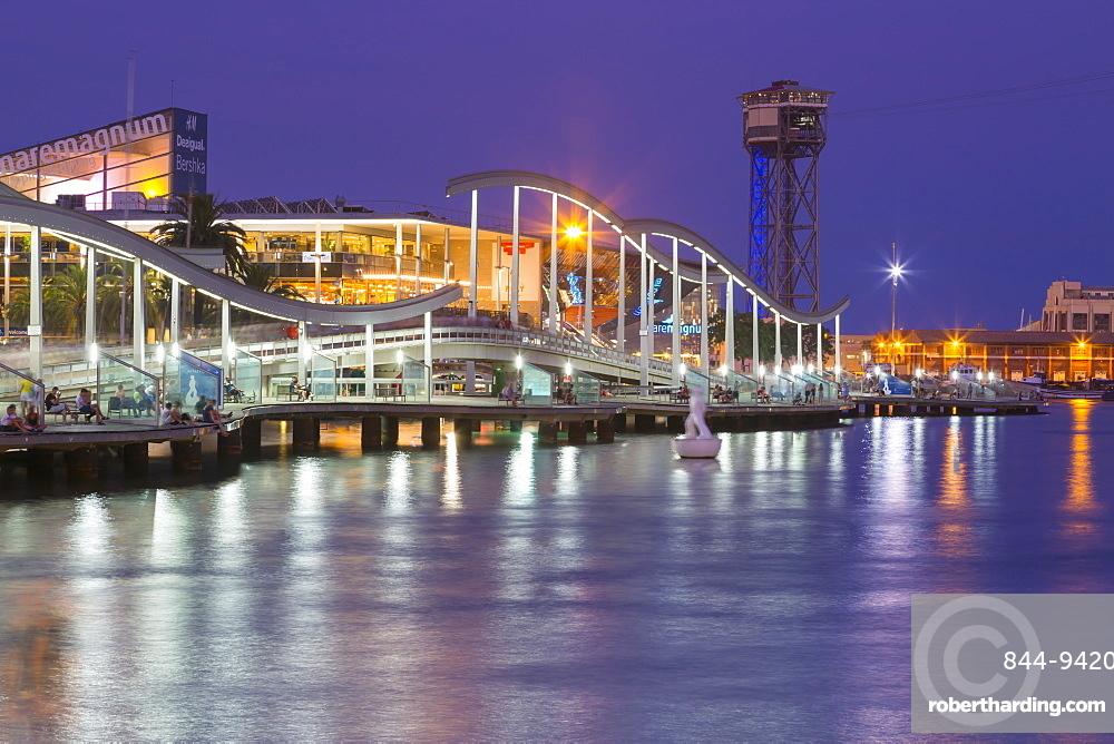 Port Vell, Barcelona, Catalonia, Spain, Europe