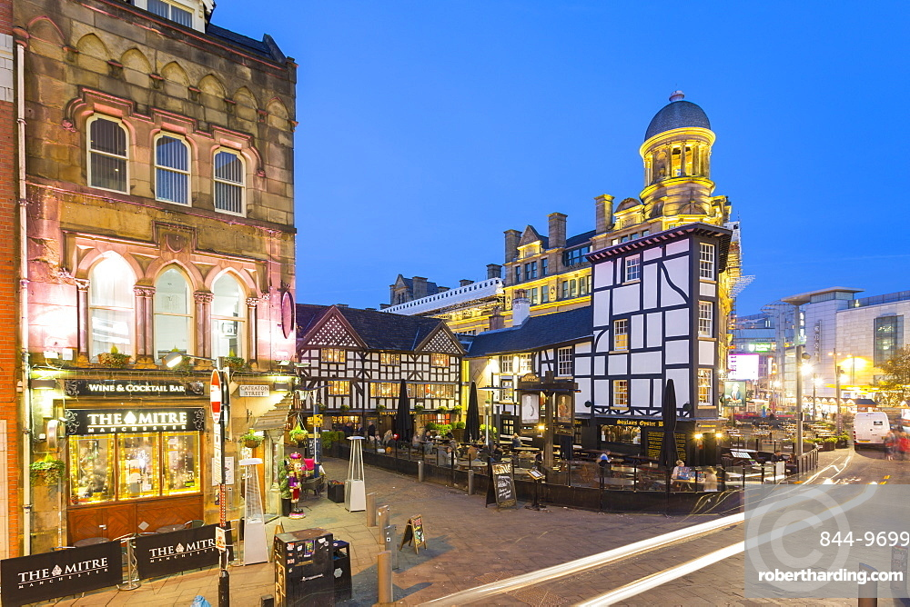 Exchange Square, Manchester, England, United Kingdom, Europe
