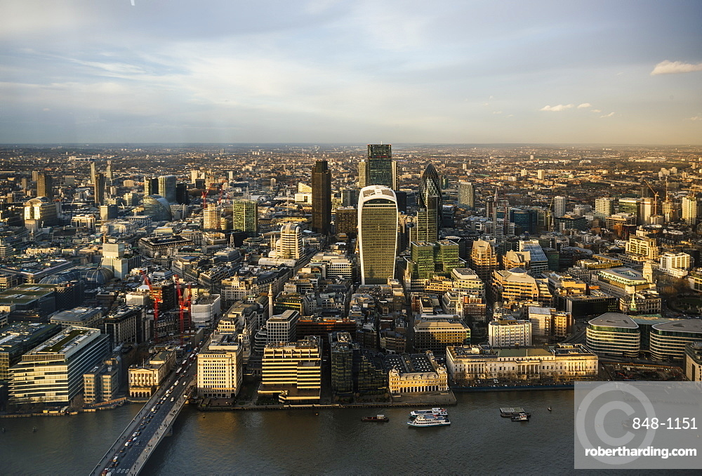 The View from The Shard, London, England, United Kingdom, Europe