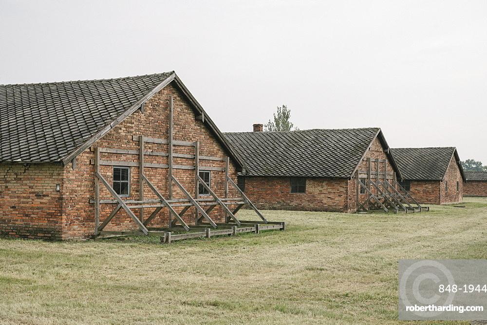Birkenau Concentration Camp, UNESCO World Heritage Site, Auschwitz, Poland, Europe