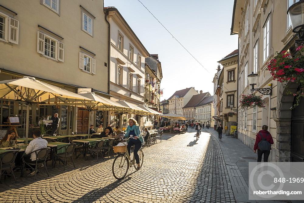 Old Town, Ljubljana, Slovenia, Europe