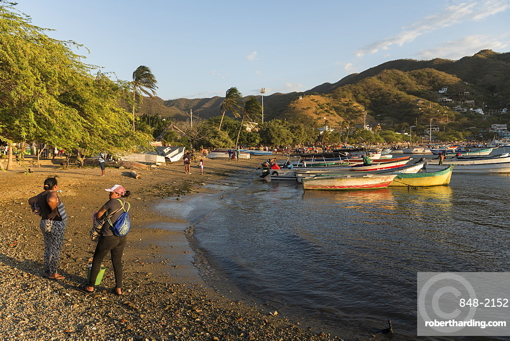 Taganga, Magdalena Department, Caribbean, Colombia, South America