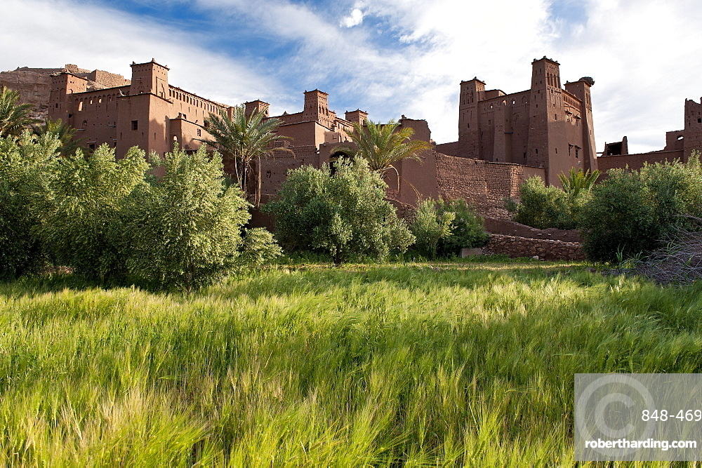 Ait Ben-Haddou, UNESCO World Heritage Site, Morocco, North Africa, Africa