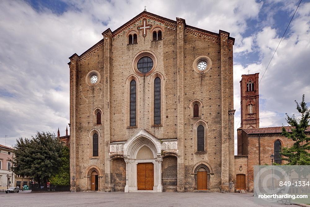 Basilica di San Francesco in Bologna, Emilia-Romagna, Italy, Europe