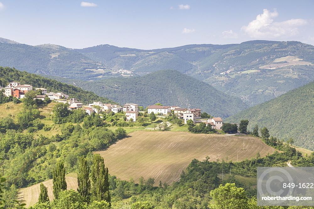 The Valnerina in Umbria, Italy, Europe