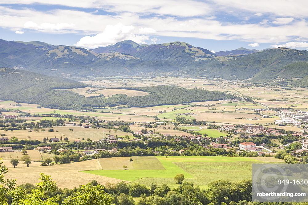 The Valnerina near to Norcia, Umbria, Italy, Europe