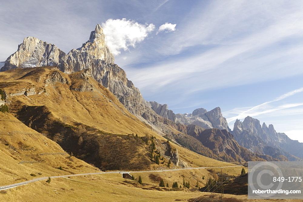 Cimon della Pala in the Dolomites, Veneto, Italy, Europe