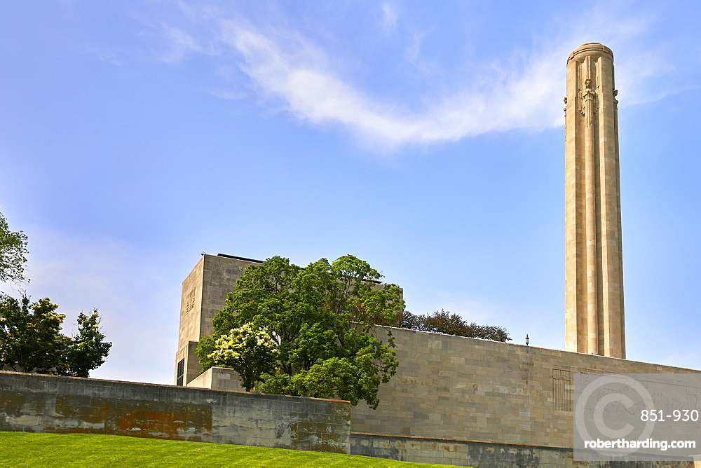 National WWI Museum and Memorial of the United States in Kansas City.