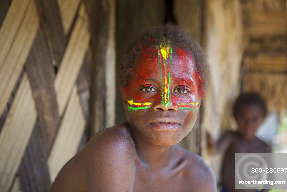 Mangao, 8 years old, the future chieftain of his village of Yakel