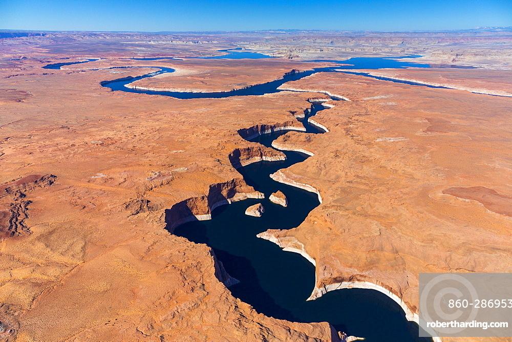 Colorado River, Lake Powell, Page, Arizona, Usa, America