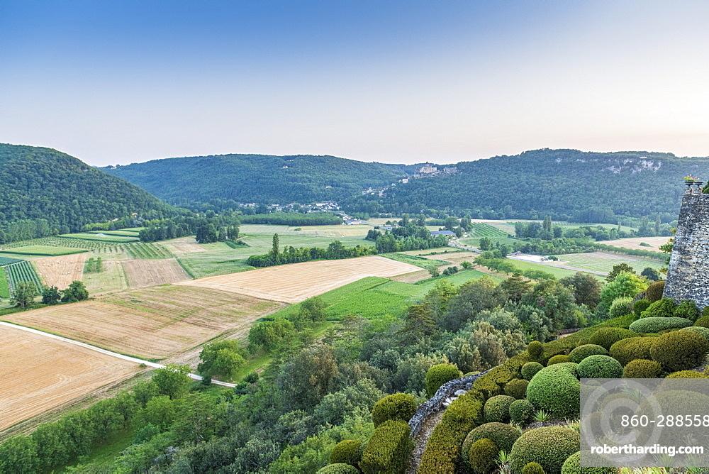 The gardens of Marqueyssac, Vézac, Dordogne, France