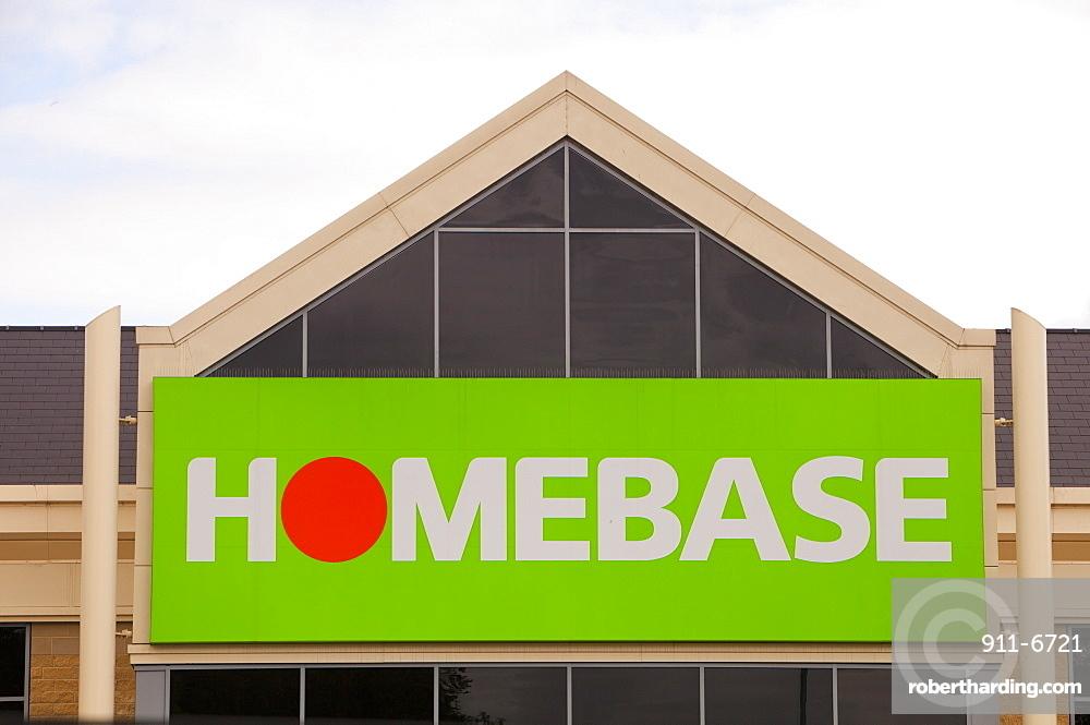 Homebase store in Clitheroe, Lancashire, England, United Kingdom, Europe