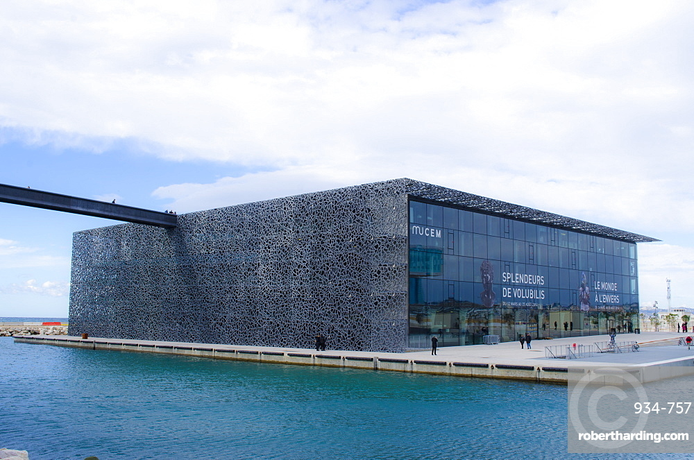 The Museum of European and Mediterranean Civilisations, Marseille, Cote d'Azur, Provence, France, Europe