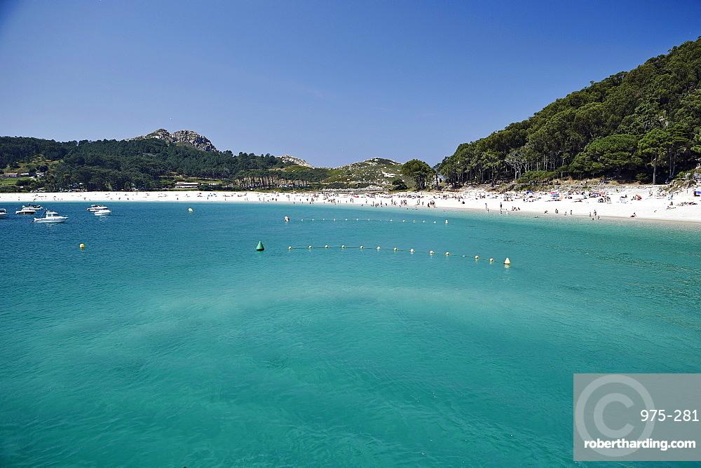 Rodas beach, Cies Islands, Galicia, Spain, Europe