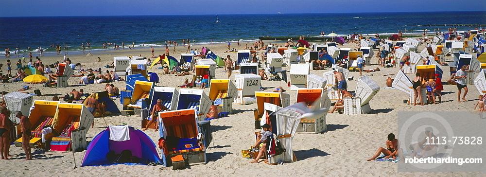 Beachlife, Westerland, Sylt Island, North Frisian Islands, Schleswig Holstein, Germany, Europe
