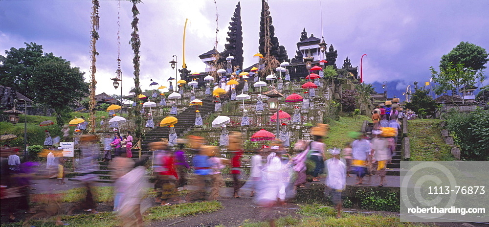 Bali, Besakih, mother temple, ceremony, Indonesia