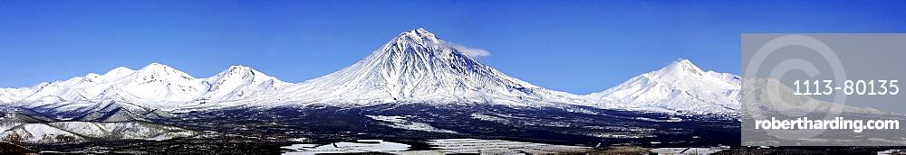 Heliskiing Kamchatka, Sibiria, Russia