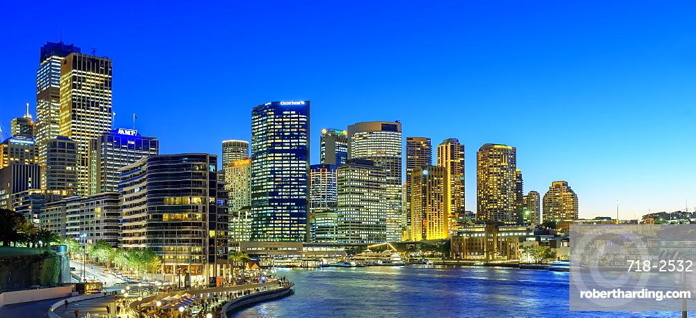 Central Business District skyline, Sydney, New South Wales, Australia