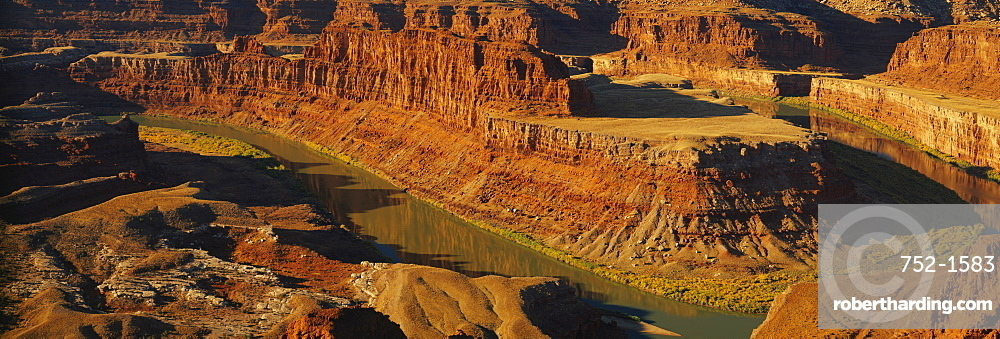 High angle view of a canyon, Dead Horse Point State Park, Utah, USA