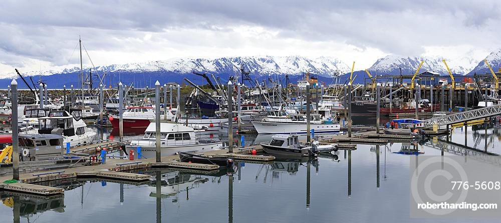Fishing Boats, Homer, Alaska, United States of America, North America