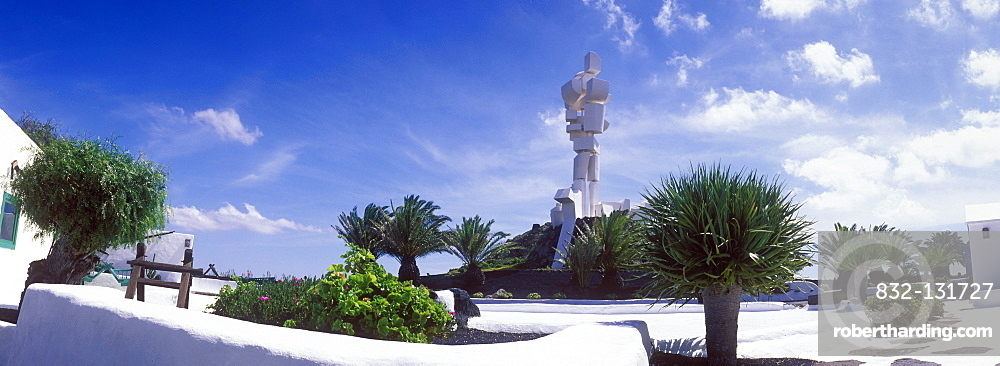 Peasant's Museum and Monument, Monumento al Campesino, fertility monument, work by Cesar Manrique, Lanzarote, Canary Islands, Spain, Europe
