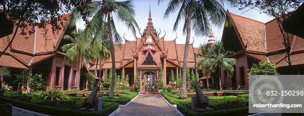 National Museum, Phnom Penh, Cambodia, Indochina, Southeast Asia