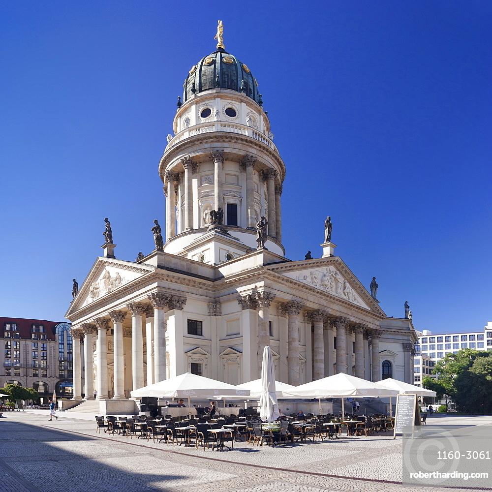 Deutscher Dom (German Cathedral), Gendarmenmarkt, Mitte, Berlin, Germany, Europe