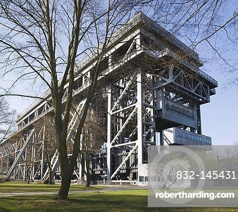 Niederfinow Ship Lift, Barnim, Brandenburg, Germany, Europe