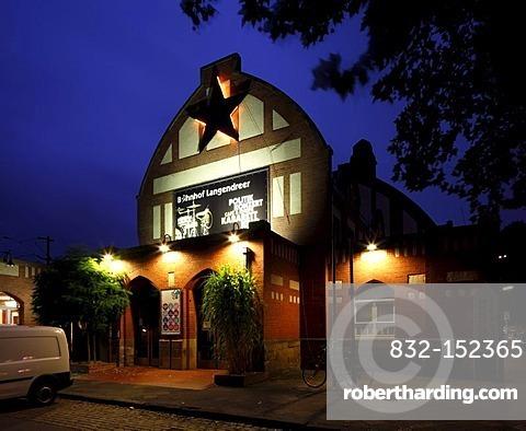 Cultural Centre, Bahnhof Langendreer, Bochum, Ruhr Area, North Rhine-Westphalia, Germany, Europe