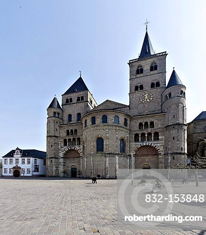 Cathedral of Trier, Trier, Rhineland-Palatinate, Germany, Europe