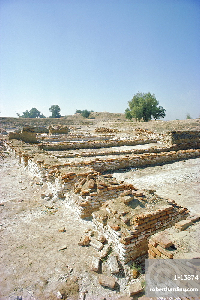 Harappa site, Indus Valley Civilisation between 3000 and 1700 BC, Sahiwal District, Pakistan