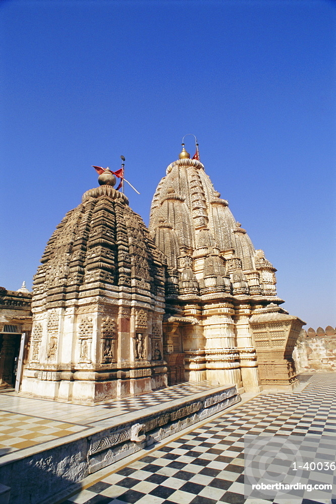 Jain Temple built in the 10th century and dedicated to Mahavira, Osiyan (Osian), Rajasthan, India