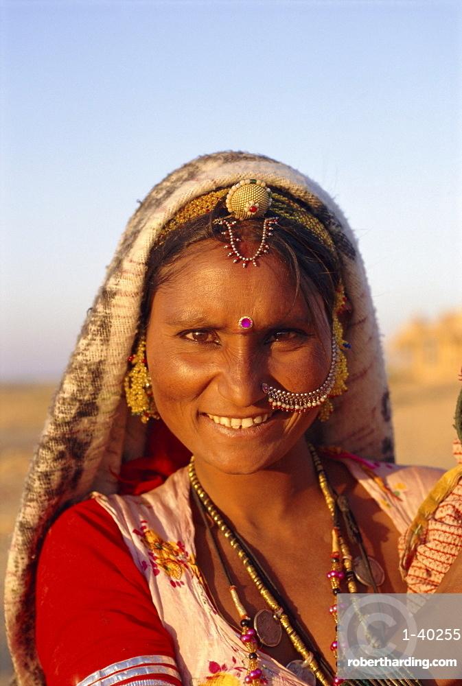 Woman, Jaisalmer, Rajasthan, India