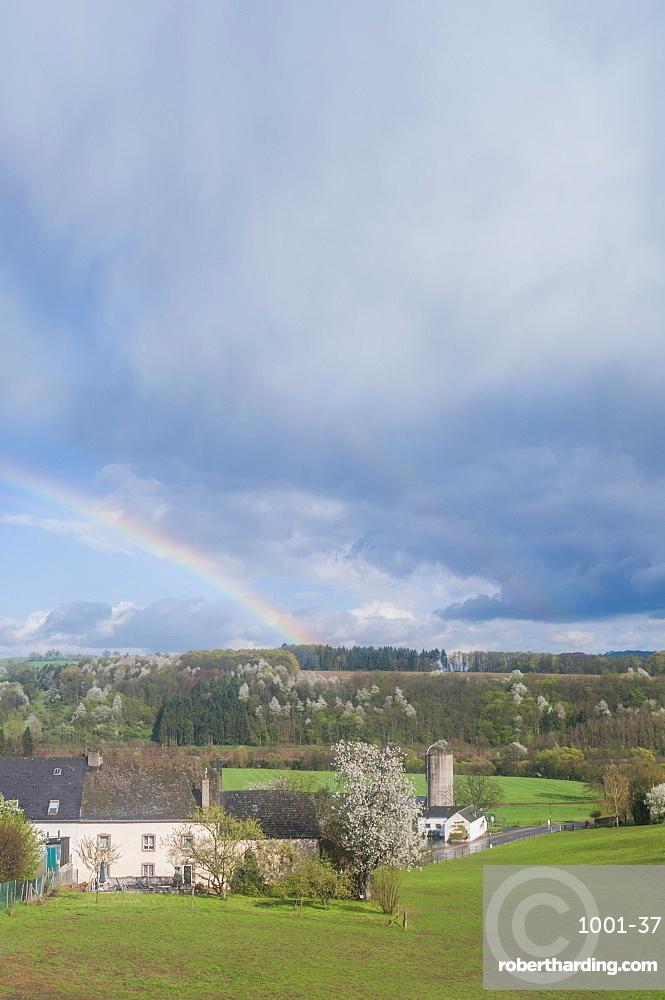 Rainbow, Bettel, Luxembourg, Europe