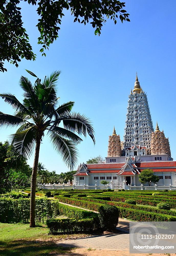 Wat Yangsanworaram near Pattaya, Chon Buri, Golf of Thailand, Thailand