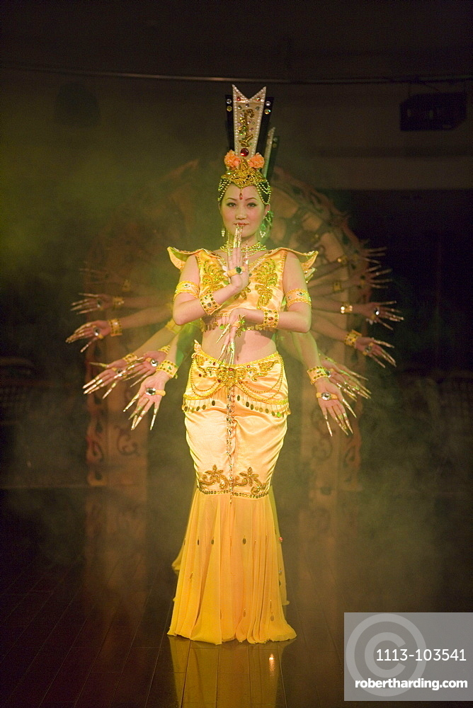 Ten Thousand Arm Buddha Performance,Aboard MV Victoria Queen, Victoria Cruises, Yangtze River, China