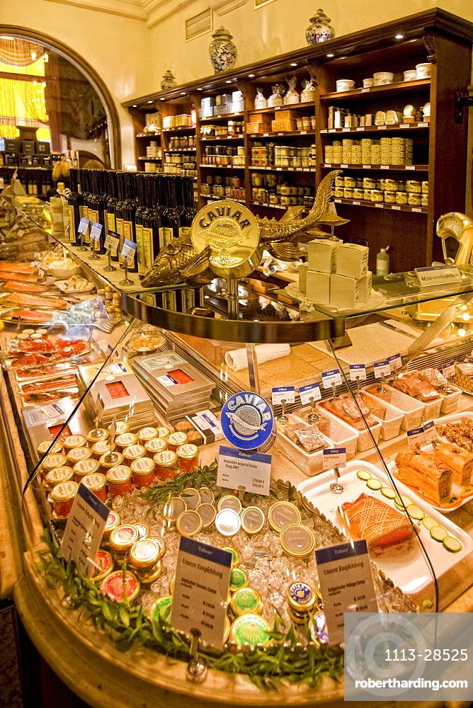 Dahlmeier Delicatessen shop, Caviar, Munich, Germany