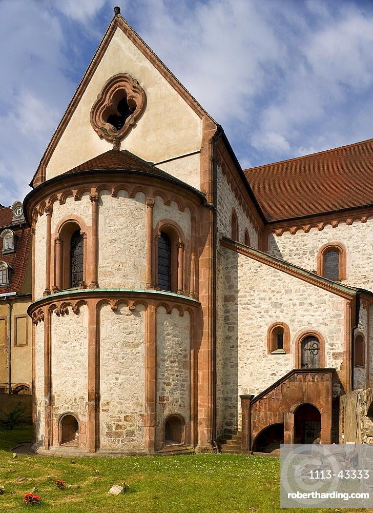 Basilica of Wechselburg monastery, Wechselburg, Saxony, Germany, Europe