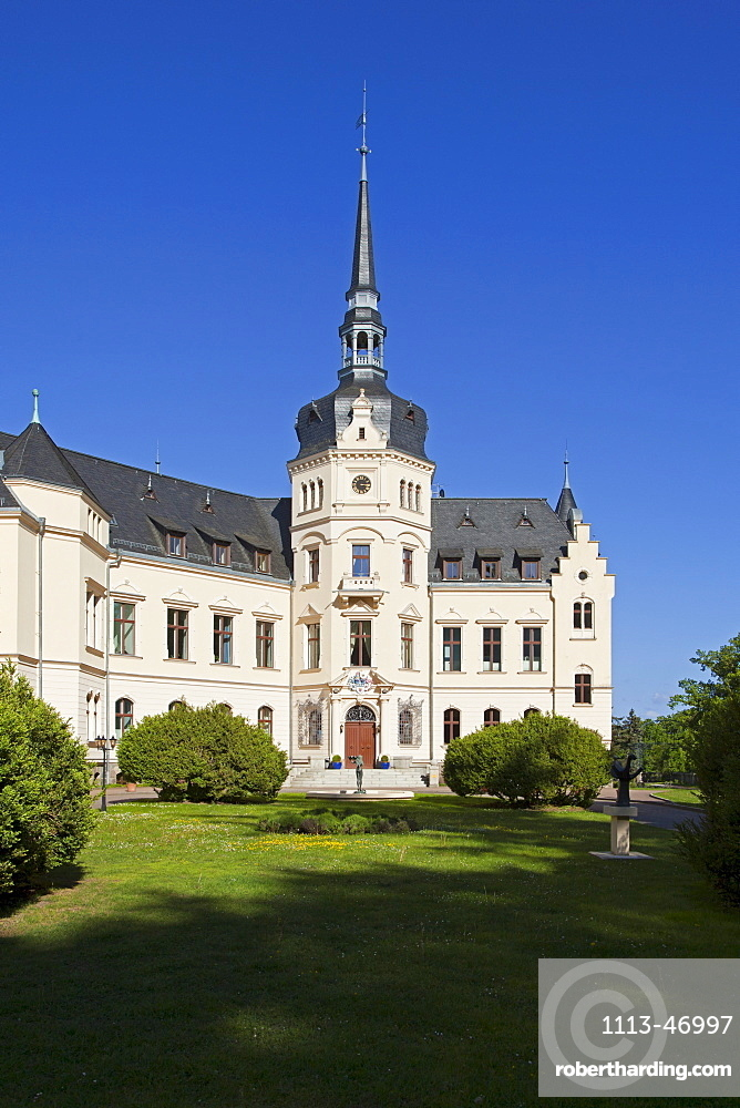 Castle hotel Ralswiek, Ruegen island, Baltic Sea, Mecklenburg-West Pomerania, Germany