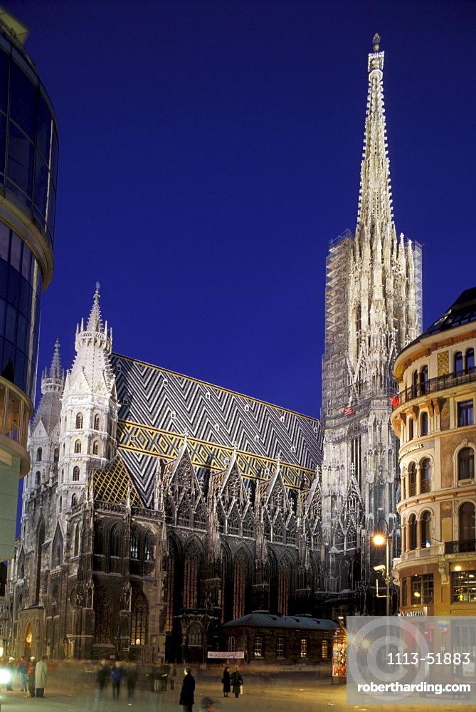 St. Stephen's Cathedral, Vienna, Austria Europe